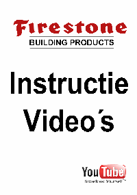 Firestone building products instructie videos